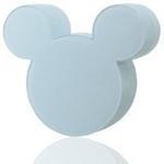 Rix(リックス) iCharger Disney ディズニー ミッキーマウス シルエット型 家庭用コンセント (AC) 充電器 海外対応 (ホワイト) RX-DNYACWH 【2個セット】