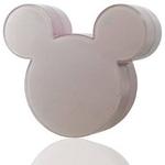 Rix(リックス) iCharger Disney ディズニー ミッキーマウス シルエット型 家庭用コンセント (AC) 充電器 海外対応 (ピンク) RX-DNYACPK 【2個セット】