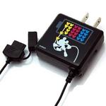 Rix(リックス) ディズニー (Disney) 家庭コンセント (AC) 充電器 FOMA/SoftBank対応 (ミッキーマウス) RX-DNY410MKY 【2個セット】