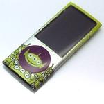 Rix(リックス) ディズニー (Disney) 第5世代iPod nanoディズニーキャラクタープロテクションシール (エイリアン) RX-IJK438LGM 【3個セット】