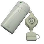 Rix(リックス) au用 巻取り式充電器 (ホワイト) RX-JUK544A 【3個セット】