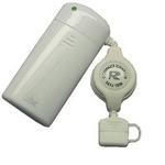Rix(リックス) FOMA SoftBank用 巻取り式充電器 (ホワイト) RX-JUK545F 【3個セット】