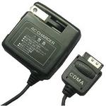 Rix(リックス) 家庭コンセント (AC) 充電器 AC100V対応 コード長約1.5m スタンダードモデル au用 (ブラック) RX-JUA953A 【3個セット】
