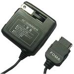 Rix(リックス) 家庭コンセント (AC) 充電器 AC100V対応 コード長約1.5m スタンダードモデル FOMA/SoftBank用 (ブラック) RX-JUA954F 【3個セット】