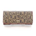 ハイセンスな女性の財布! シンガポールBONIA(ボニア) モノグラム長財布 80647-502-04