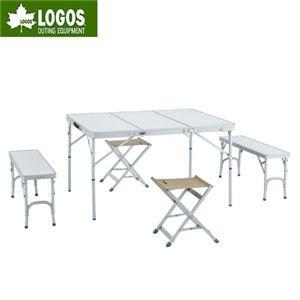 LOGOS(ロゴス) ALC(アルクリーン) 3FDベンチテーブル6 73160102