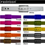 FEDABOA(フェダボア) ラバーベルト 579200 Red