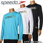 speedo(スピード) ロングスリーブTシャツ SD10S20 TQ(ターコイズ) M