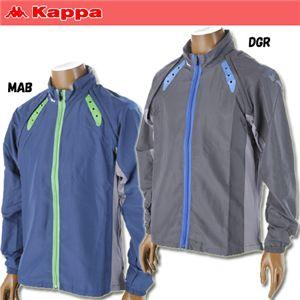 kappa(カッパ) メンズクロスジャケット KRMA8L05 a L DGR