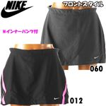 NIKE(ナイキ) DRI-FIT ランニングスカート(インナーパンツ付) 326977 S ブラック/ピンクフラッシュ