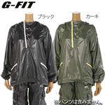 G-FIT(ジーフィット) ウインドブレーカー Mサイズ GA-N055PO ブラック