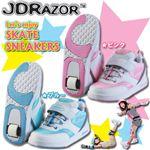 JD RAZOR(ジェイディーレーザー) SKATE SNEAKRE(スケートスニーカー) JK-601 ピンク 19cm