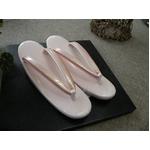 草履単品 エナメル ピンク系 礼装用 604 ★おまけ付き