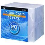 CDケースクリアー CDC-1S20P 【20枚×20セット】