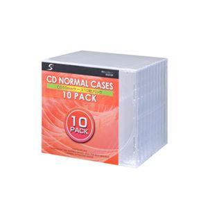 CDノーマルケース ECD10P 【10枚×10セット】
