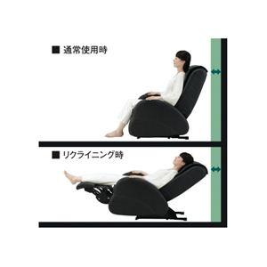 スライヴ マッサージチェア くつろぎ指定席 ZERO CHD-7000(K) ブラック