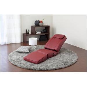 スライヴ 家庭用コンパクト電気マッサージチェア(座椅子タイプ)くつろぎ指定席 CHD3201 レッド
