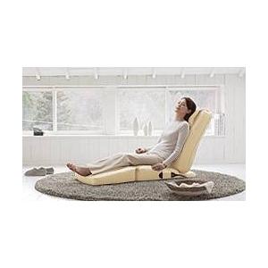 スライヴ 家庭用コンパクト電気マッサージチェア(座椅子タイプ) くつろぎ指定席 CHD3201 ベージュ
