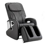スライヴ マッサージチェア くつろぎ指定席(足裏マッサージ・フットレス収納付き)CHD-5800(K) ブラック