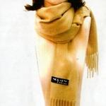 「冬のソナタ」オリジナル・マフラーコレクション ベージュ