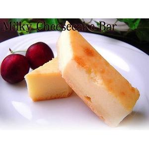 【訳あり】ギガ大盛り!訳ありミルキーチーズケーキバー 2kg(500g×4パック)