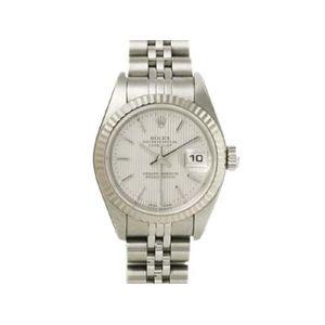 【中古A】ROLEX(ロレックス) 腕時計 デイトジャスト 79174 シルバータペストリー文字盤 K番