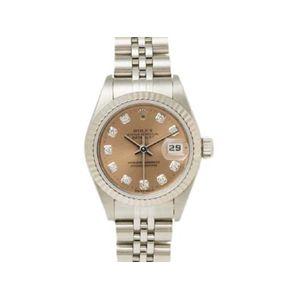 【中古A】ROLEX(ロレックス) 腕時計 デイトジャスト 69174G U番 ピンク文字盤
