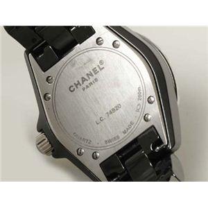 【現品限り】CHANEL(シャネル) J12 33mm ブラックセラミック クォーツ レディース /ブラック H0682 【中古A】