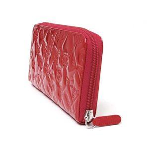 【現品限り】CHANEL(シャネル) ラウンドファスナー財布 シンボリチャーム エナメル 赤 A48051 【新品】