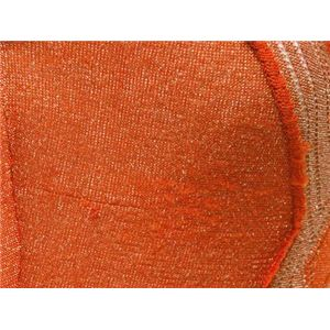 【現品限り】Dolce&Gabbana(ドルチェ&ガッバーナ) ノースリーブ コサージュ付 ビスコース(レーヨン)85% キュプラ10% ポリエステル5% オレンジ 【中古A】