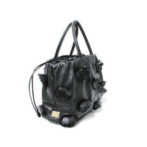 【現品限り】Dolce&Gabbana(ドルチェ&ガッバーナ) トートバッグ カーフ 黒 【中古SA】