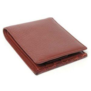 【現品限り】GUCCI(グッチ) 2つ折財布 カーフ ブラウン 【新品同様】