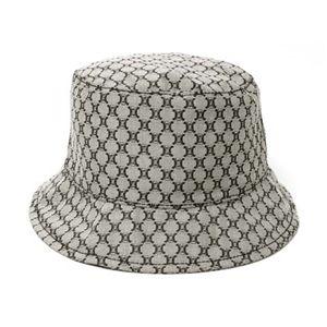 【現品限り】Celine(セリーヌ) 帽子 ハット コットン グレー 【新品同様】