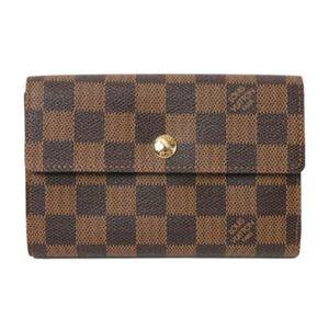 【現品限り】LOUIS VUITTON(ルイ ヴィトン) ダミエ 証明書ケース付き財布 アレクサンドラ N63067【未使用】