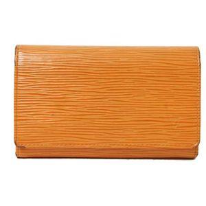 【現品限り】LOUIS VUITTON(ルイ ヴィトン) エピ ファスナー財布 マンダリンオレンジ M6350H【中古B】