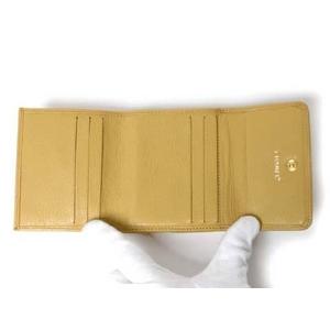 【現品限り】CHANEL(シャネル) Wホック財布 ベージュ 【新品同様】