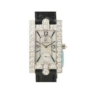 【現品限り】Harry Winston(ハリーウィンストン) 腕時計 レディアヴェニュー ホワイトシェル WG/ダイヤ 310/LQWL.M/D3.1【中古SA】