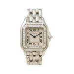 【現品限り】Cartier(カルティエ) 腕時計 パンテールSM WG 1重ダイヤ クオーツ レディース【中古A】