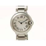 【現品限り】Cartier(カルティエ) 腕時計 バロンブルーSM SS クォーツ W69010Z4 【新品同様】