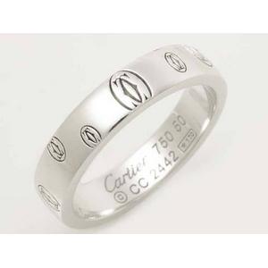【現品限り】Cartier(カルティエ) ハッピーバースデーリング SM WG ♯50 【中古A】
