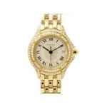 【現品限り】Cartier(カルティエ) 腕時計 カルティエ パンテール クーガー 2重ダイヤ レディースウォッチ クオーツ 【中古SA】