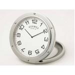 【現品限り】HERMES(エルメス) エルメス クリッパー 置き時計 トラベルクロック 【新品同様】