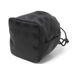 【現品限り】CHANEL(シャネル) トラベルライン 巾着ポーチ 黒 【未使用】
