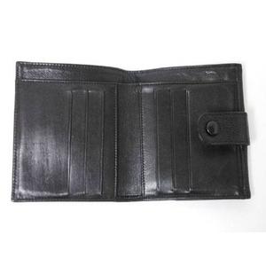 【現品限り】CHANEL(シャネル) Wホック財布 キャビア 黒 【中古B】