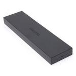 【現品限り】CHANEL(シャネル) ノベルティ ペンケース 鉛筆&定規セット 黒 【未使用】