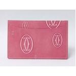 【現品限り】Cartier(カルティエ) ハッピーバスデー ピンク カードケース L3000953 【新品同様】