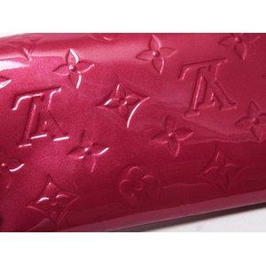 【美品 現品限り】Louis Vuitton [ルイヴィトン]ヴェルニ ファスナー長財布 ポムダムール M93530 【中古AB】