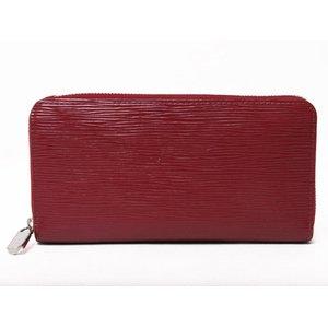 【美品 現品限り】Louis Vuitton [ルイヴィトン] エピ ジッピーウォレット ルビー M6007M 【中古AB】