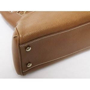 【美品 現品限り】 Cartier [カルティエ] マルチェロSM ハンドバッグ キャメル L1000835 【中古AB】