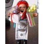 【ペルー産】伝説のエケッコー人形 7cm(ミニサイズ)2個セット 色おまかせ